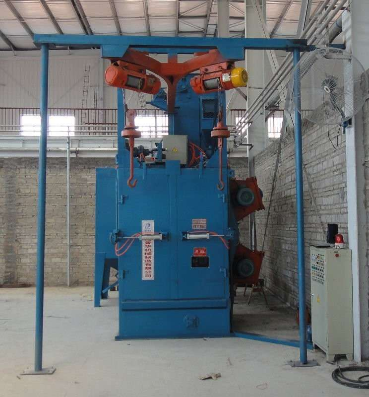 Q37 Rotary Hook Shot Blasting Machine
