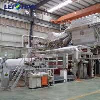 High Speed Crescent Former Toilet Tissue Paper Making Machine