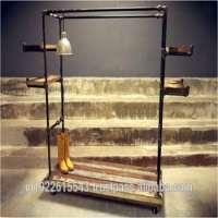 工业家具服装Dispaly Rack服装吊挂展架