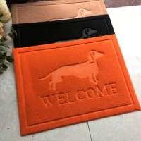 狗装饰爪子干净的散点地毯