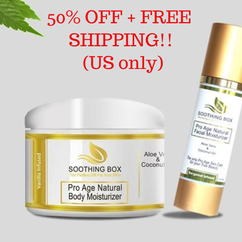 Pro Age Natural and Organic Moisturizers