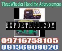 Auto Rickshaw Hood