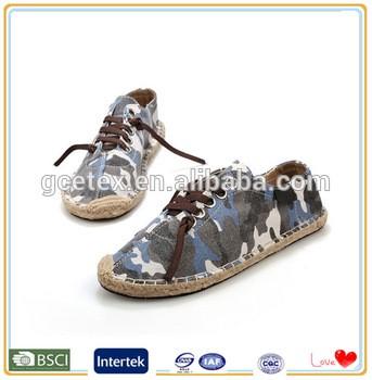 加拿大枫木设计师行走男装帆布鞋鞋