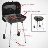 Hamburg grill Barbecue grill electroplate Charcoal grill