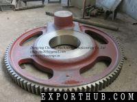 砂钢铸造橡胶机械硫化机部分曲柄齿轮