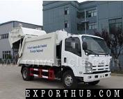 ISUZU 8cbm垃圾压缩机卡车