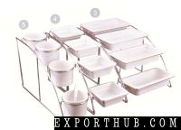 13 GN SYSTEM STAND&amp Plates SET