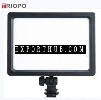 TRIOPO LED204照片和视频LED灯尼康佳能歌曲pentaxolympus摄像头灯3200K5500K工作室灯