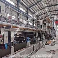 160TPD容量3800mm长绒造纸机,用于瓦楞纸的起毛