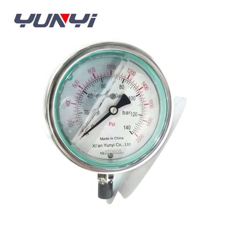 hydraulic oil pressure gauges