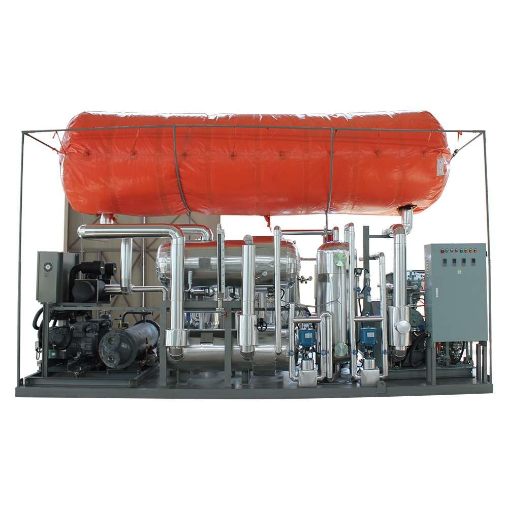 co2 recovery plant for dry ice production