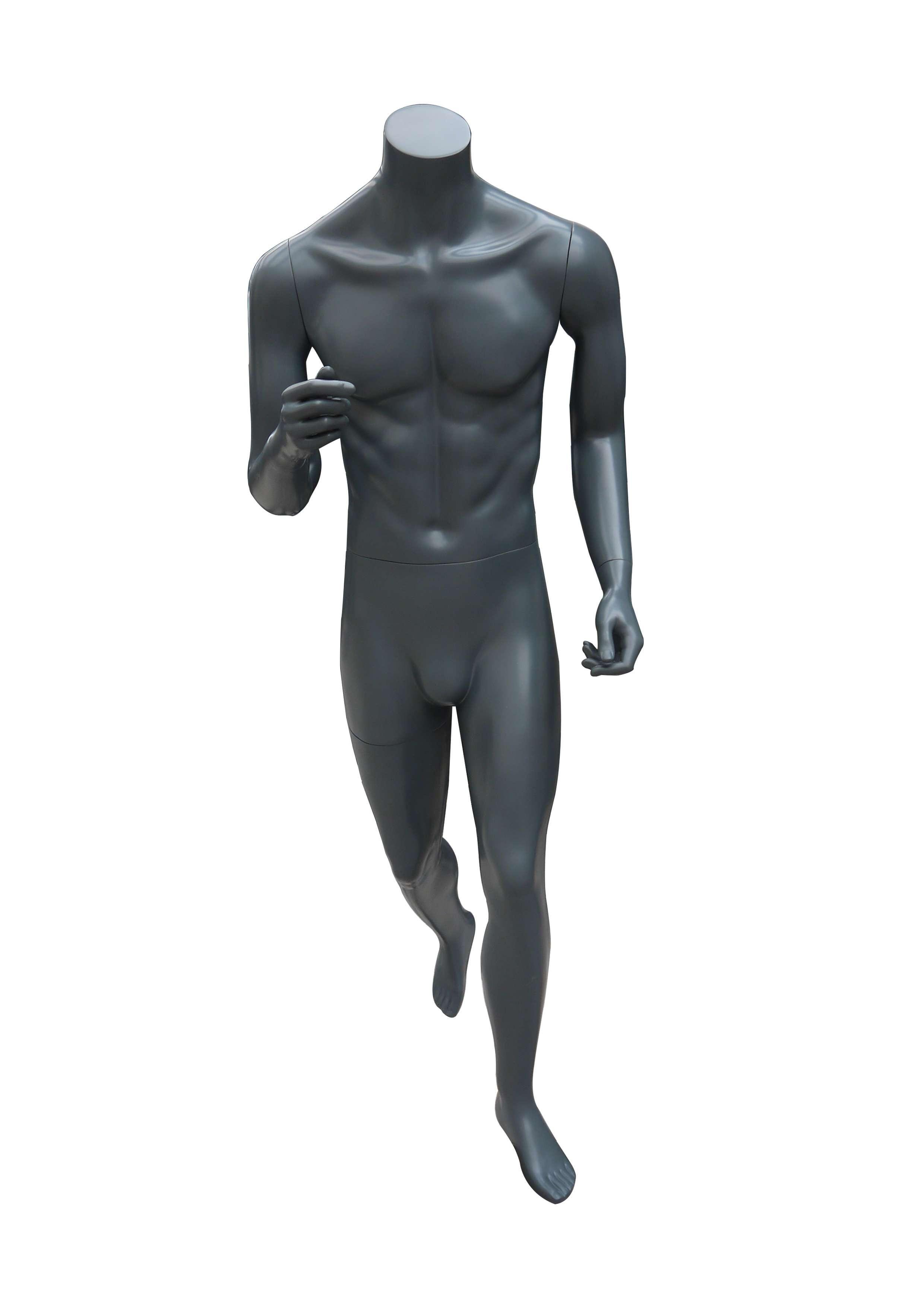 快乐人体模特 - 运动男性无头模特-M-6