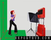 Portbable 3D Photo Booth活动婚礼租赁服务
