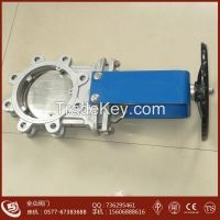 Lugged Knife Gate Valve stainless steel knife gate valve304 316 manual operated