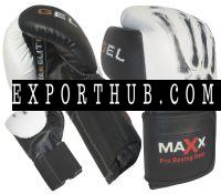 Maxx皮革拳击啫喱手套FightPunch袋MMA泰拳擒拿Spar健身房