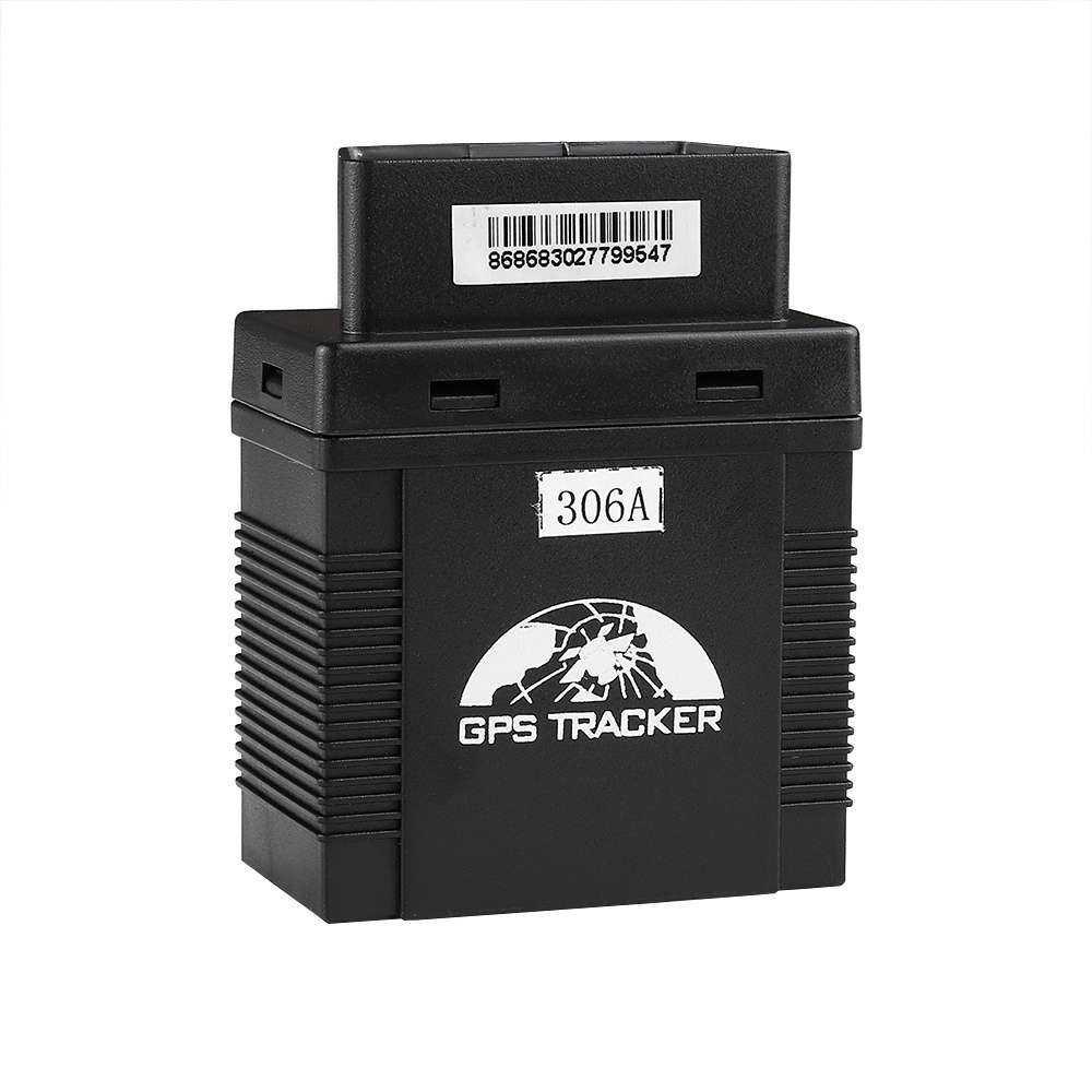 OBD2车载GPS追踪器306A,Gps Sim卡追踪电话应用
