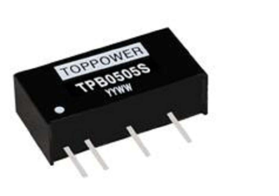 2W 3KVDC Isolation Regulated Single Output DC/DC Converters