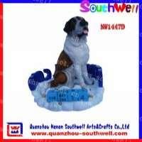 树脂动物礼品动物狗雕像