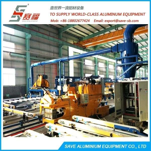 铝挤压型材自动处理系统
