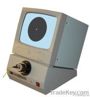 Optical fiber video microscope