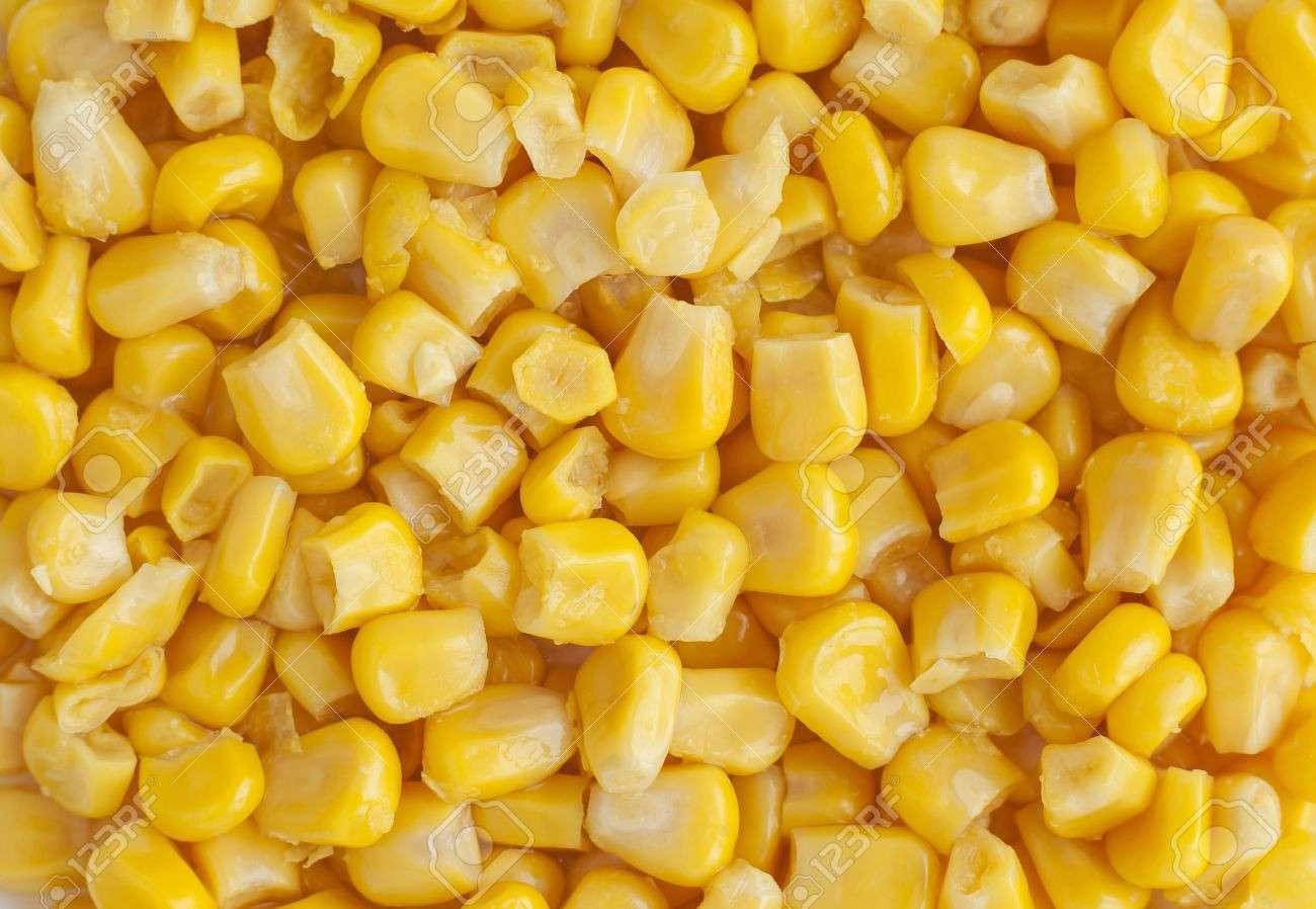 多汁罐装甜玉米