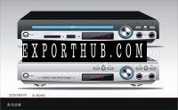 225毫米家用DVD播放器USB端口没有屏幕
