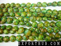 自然绿松石小珠子线