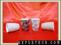 12oz陶瓷茶杯几何设计