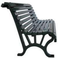 铸铁室外花园长凳腿