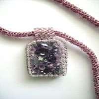 紫水晶板坯