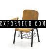 木椅写作平板电脑和篮子